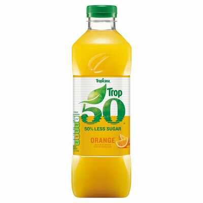 Tropicana Trop50 Orange Juice Smooth 1ltr