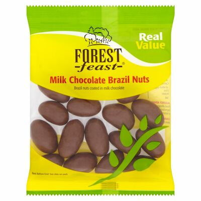 Forest Feast Chocolate Brazil Nuts 150g