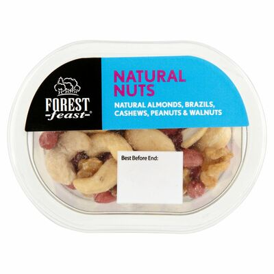 Forest Feast Snack Pot Natural Nuts 60g