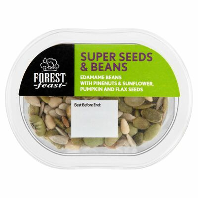 Forest Feast Snack Pot Super Seeds And Beans 70g