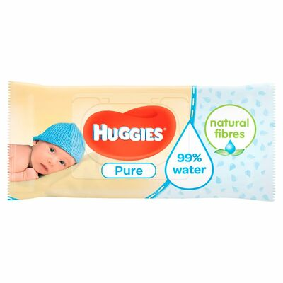 Huggies Baby Wipes Pure 56pce
