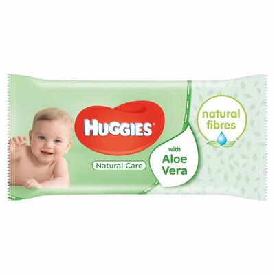 Huggies Wipes Natural Care 56pce