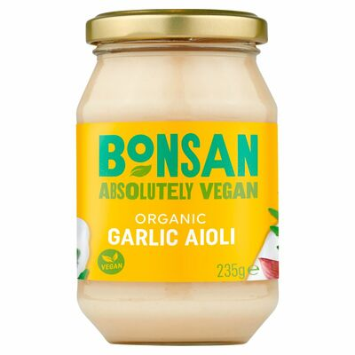 Bonsan Organic Garlic Aioli Vegan 235g