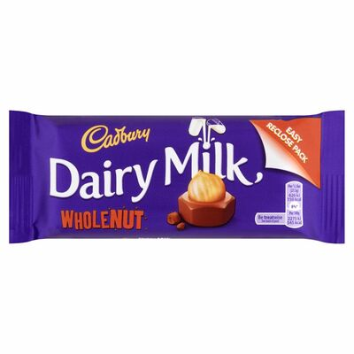 Cadbury Dairy Milk Wholenut 55g