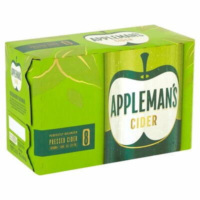 Appleman's Cider Can Pack 8 x 500ml