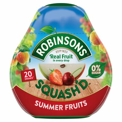 Robinsons Squash'd Summer Fruit 66ml