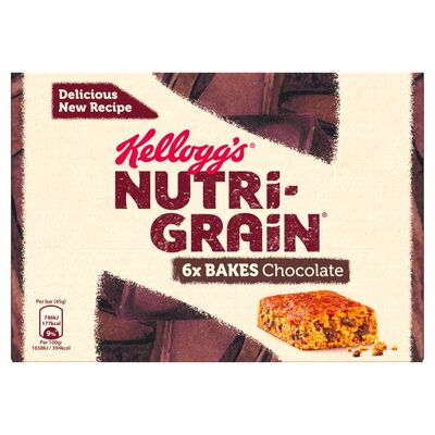Kellogg's Elevenses Chocolate Chip 6 Pack 270g