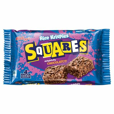 Kellogg's Rice Krispies Squares Totally Chocolate 4 Pack 144g