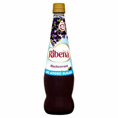 Ribena Concentrate Blackcurrant No Added Sugar 850ml