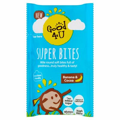 Good4U Superbites Banana & Cocoa Kids 20g