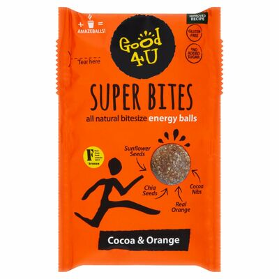 Good4U Superbites Cocoa & Orange 40g