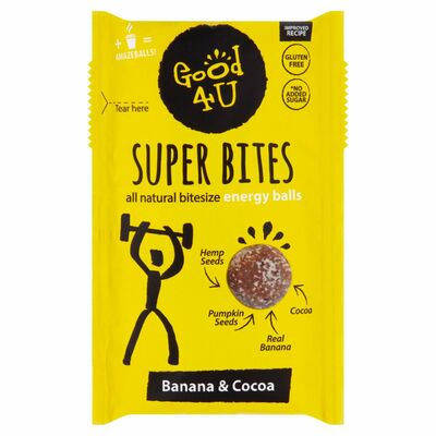 Good4U Superbites Banana & Cocoa 40g