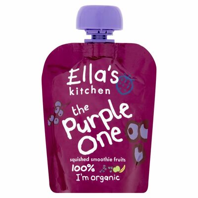 Ella's Kitchen The Purple One Smoothie Single 90g