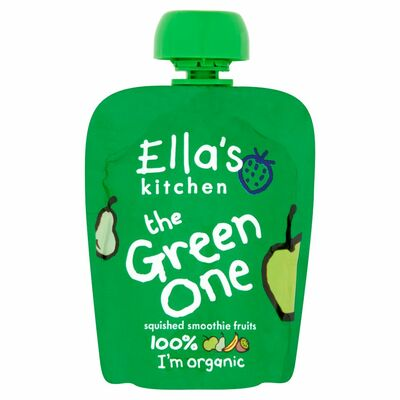 Ella's Kitchen The Green One Smoothie Single 90g