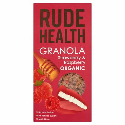 Rude Health Strawberry & Raspberry Granola 450g