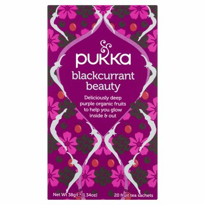 Pukka Blackcurrant Beauty Tea 40g