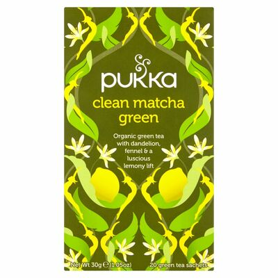 Pukka Organic Clean Matcha Green Tea 40g