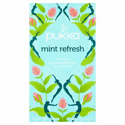 Pukka Organic Mint Refresh Herbal Tea 40g