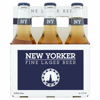New Yorker Bottle Pack 6x330ml