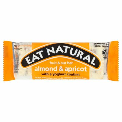 Eat Natural Almond. Apricots & Yogurt Chocolate 50g