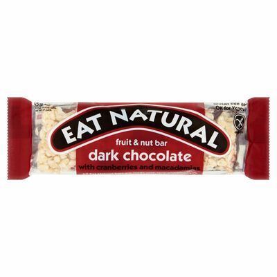 Eat Natural Cranberry, Macadamia & Dark Chocolate 50g