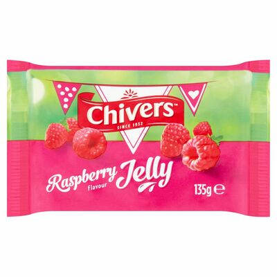 Chivers Jelly Raspberry 135g