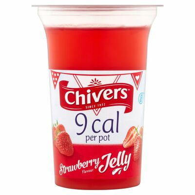 Chivers 9 Calorie Strawberry Jelly Pot 150g