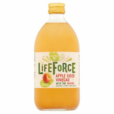 Lifeforce Raw Apple Cider Vinegar 500ml