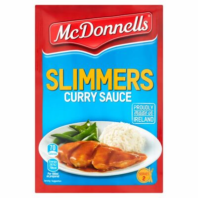 McDonnells Slimmers Curry Sauce 45g