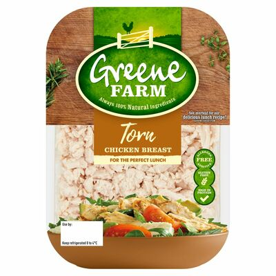 Greene Farm Fine Foods Torn Roast Chicken 100g