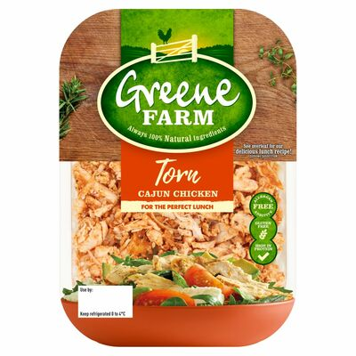 Greene Farm Fine Foods Torn Cajun Chicken 100g