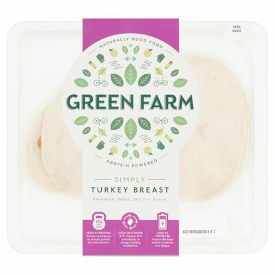 Green Farm Fine Foods Sliced Roast Turkey 90g