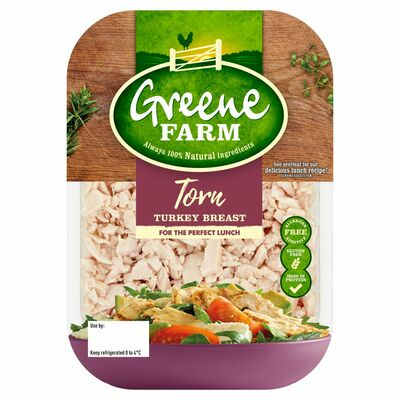 Greene Farm Fine Foods Torn Turkey Breast 100g