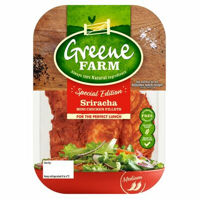 Greene Farm Sriracha Mini Fillets 150g