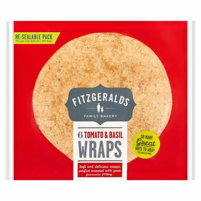 Country Kitchen 6 Tomato Wraps 370g