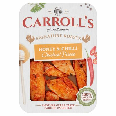 Carroll's Honey And Chilli Chicken Pieces 100g