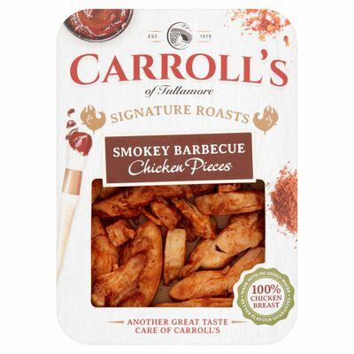 Carroll's Bbq Chicken Pieces 100g