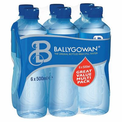 BALLYGOWAN BOTTLE PACK 6 X 500ML