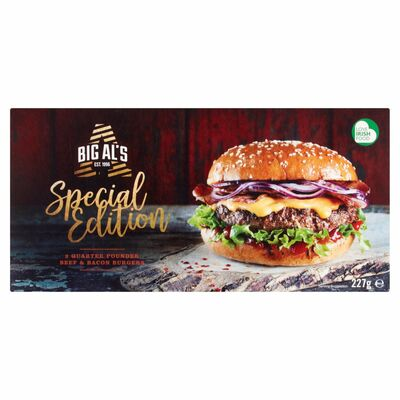 Big Al's Beef Burger Meaty Combo 227g