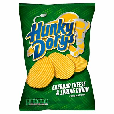 Hunky Dorys Cheese & Onion 135g