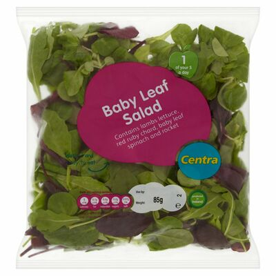 CENTRA BABY LEAF SALAD BAG 325G