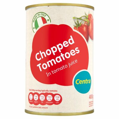 Centra Chopped Tomatoes 400g