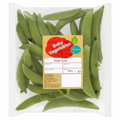 Centra Fresh Irish Sugarsnap 145g