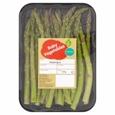 Centra Fresh Irish Asparagus Tips 90g