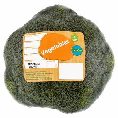 CENTRA WRAPPED BROCCOLI CROWN 350G