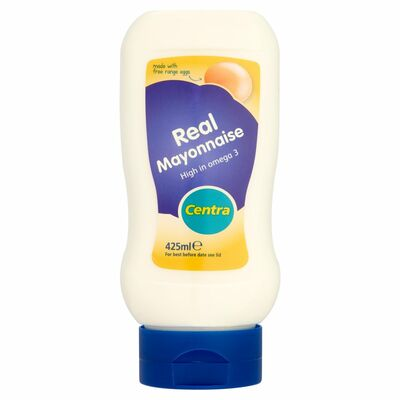 Centra Real Mayo Squeezy Top Down 425ml