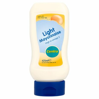 Centra Light Mayo Squeezy Top Down 425ml