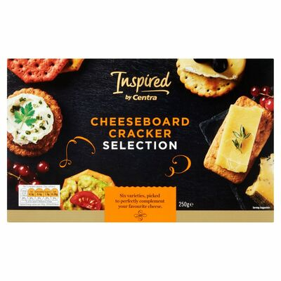 INSPIRED BY CENTRA CRACKER SELECTION 250G