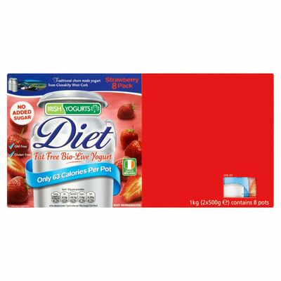 Irish Yoghurts Diet Strawberry 125g