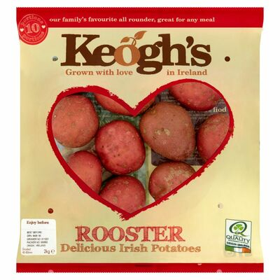 KEOGHS ROOSTER POTATOES 2KG